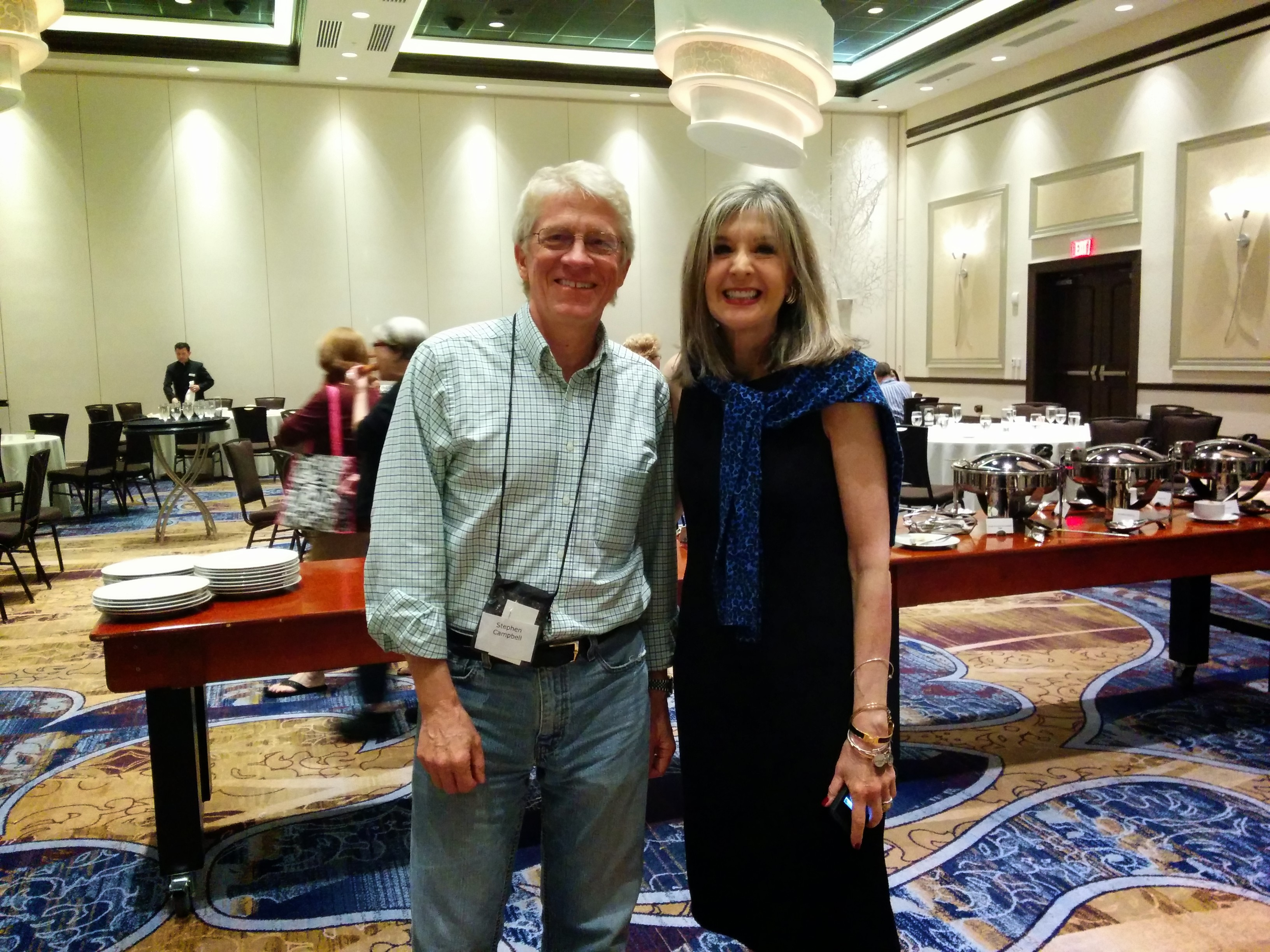 Stephen Campbell with Hank Phillippi Ryan