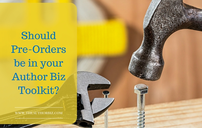 Should Pre-Orders be in Your Author Toolkit